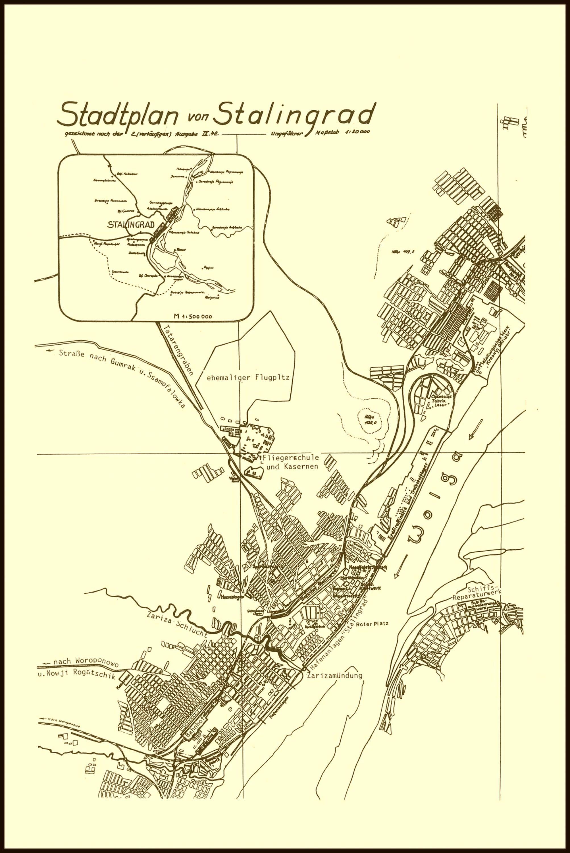 stalingrad-kampf009 | Maps | WW2, Map, Wwii