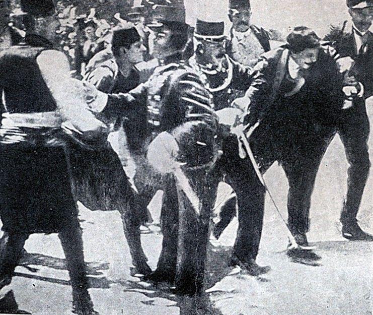 June 28 1914 Gavrilo Princip Second From Right Member Of