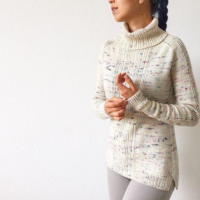 Ravelry: patrón de suéter Komorebi de Life Is Cozy | Dos agujas ...