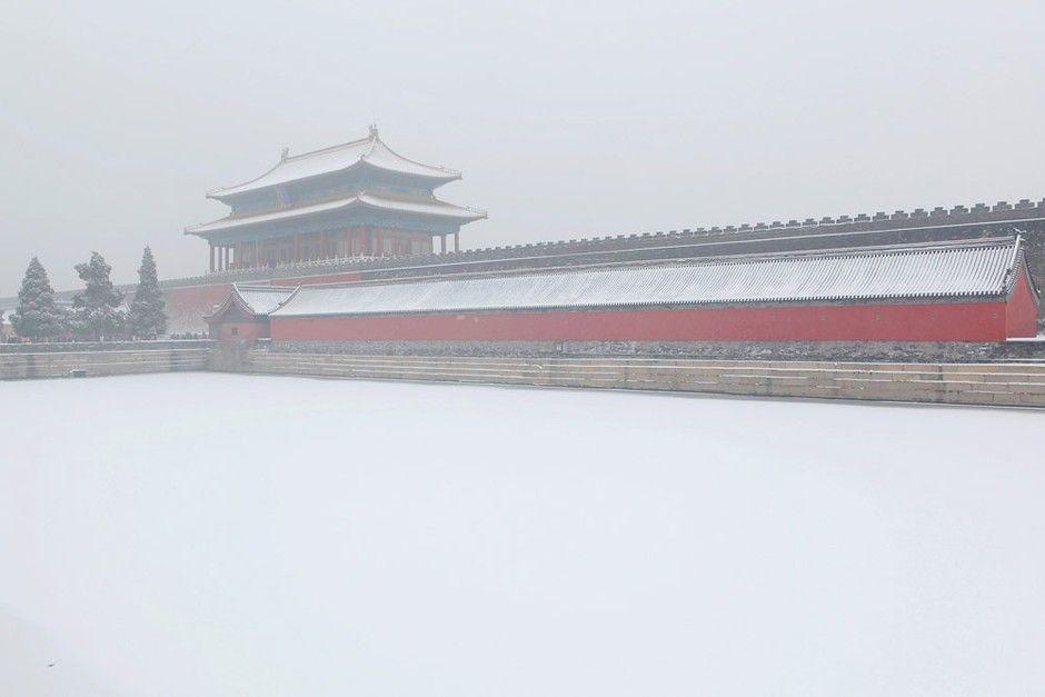 Forbidden City in snow                       北京紫禁城  白雪皚皚