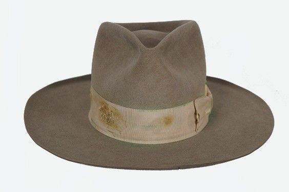 7f93c85e 100% of the proceeds benefit From One Hand To AnOTHER - Nick Fouquet Hat  Worn by Pharrell Williams at 2014 Grammy's Performance
