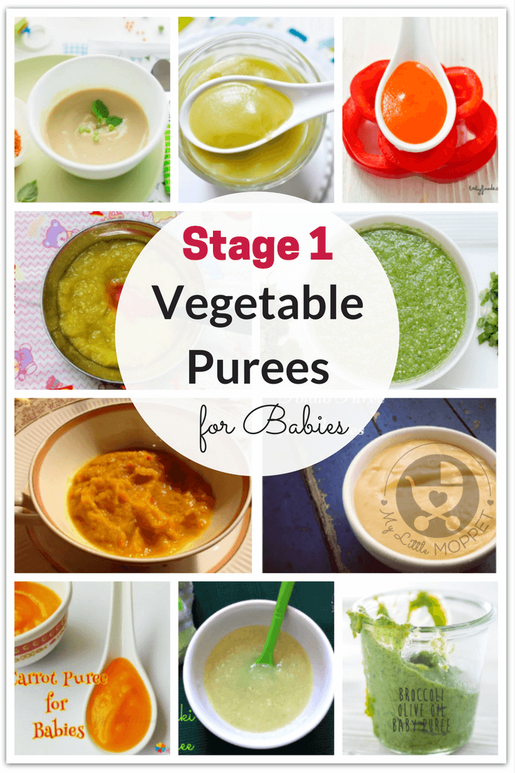 20 Quick and Easy Vegetable Purees for Babies Baby food