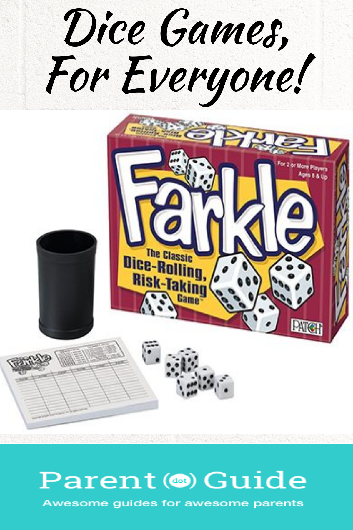 Best Dice Games Dice games, Parenting guide, Games