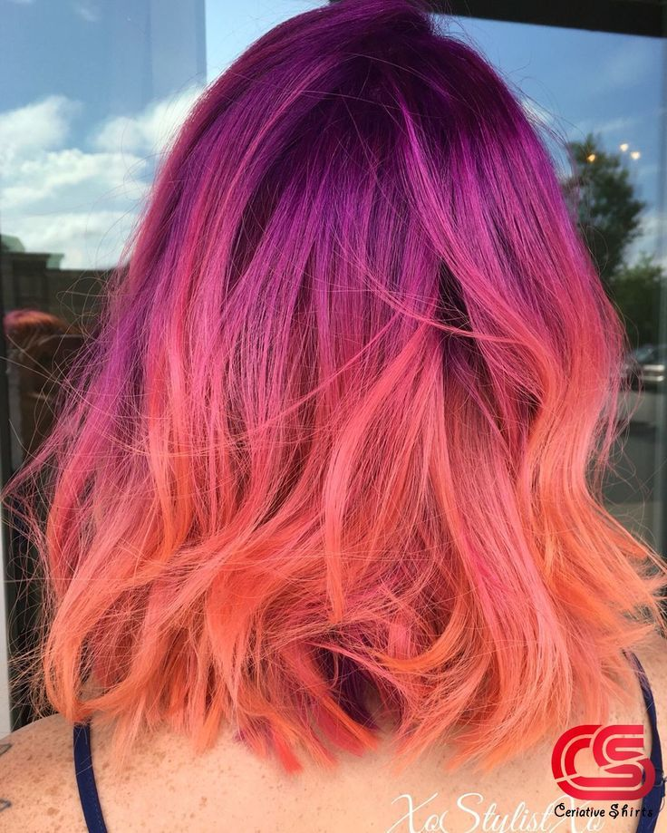 Die Frisur Des Frühlings: Rose-Braids DIE Frisur des Frühlings: Rose-Braids Ombre Hair pink and purple ombre hair