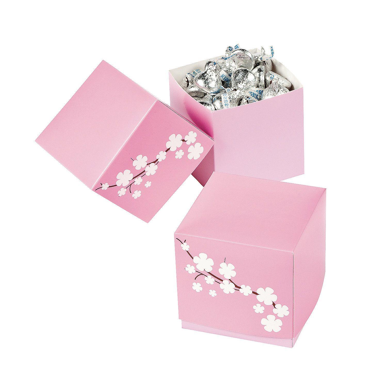 Cherry Blossom Gift Boxes - OrientalTrading.com $1.99 per doz ...