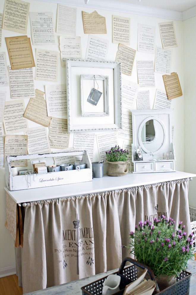 French Larkspur - eclectic - home office - chicago - French Larkspur on chic office attire, chic interview outfits for women, chic office style, tommy bahama office ideas, office color ideas, shabby chic home ideas, office decorating ideas,