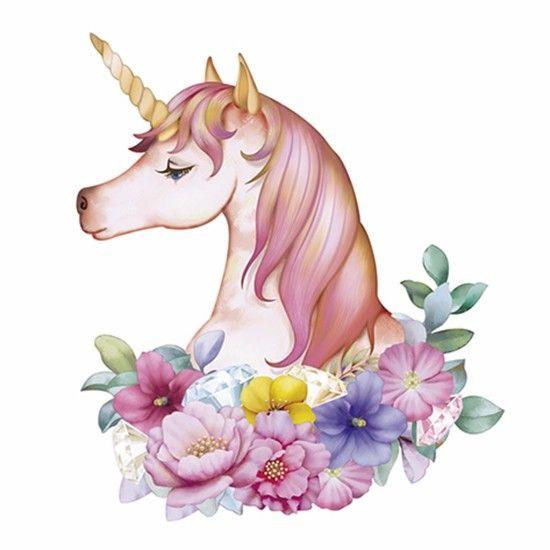Aplique decoupage litoarte apm8 844 em papel e mdf 8cm for Diseno de mesa de unicornio