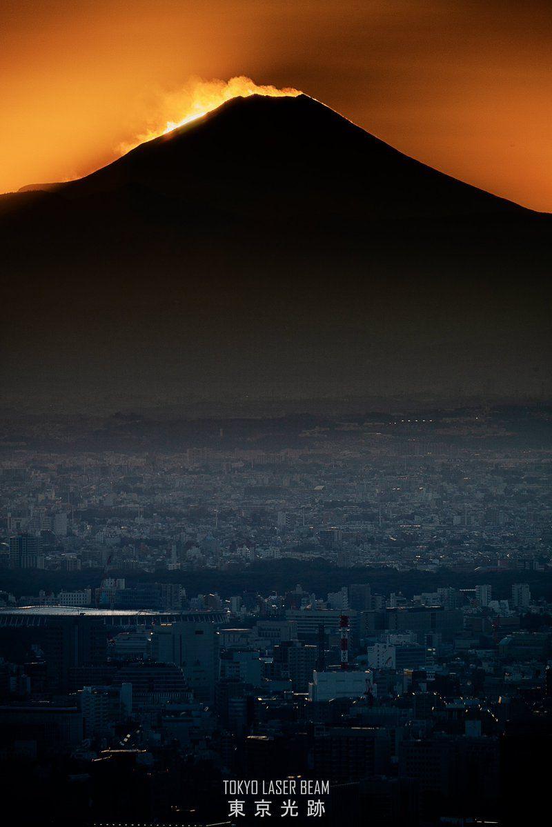 #東京 #富士山 #風景 #夜景 #東京光跡  #japan #tokyo #fujiyama #mtfuji #fujisan #landscape #nightview  #tokyo_laser_beam   #SonyAlpha #a7riii