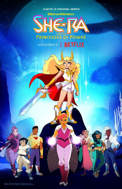 new to netflix season 4 of she ra and the princesses of power from dreamworks animation stream it now review shera ad princess of power she ra princess of power she ra