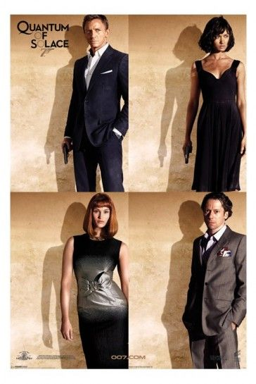 Quantum Of Solace Poster James Bond 007 Quartet New Iposters 5 99