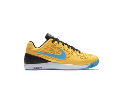 Nike Men's Air Zoom Cage 2 Tennis Shoes NavyOrangeWhite