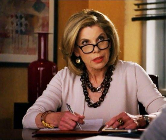 Diane Lockhart Christine Baranski Dans The Good Wife