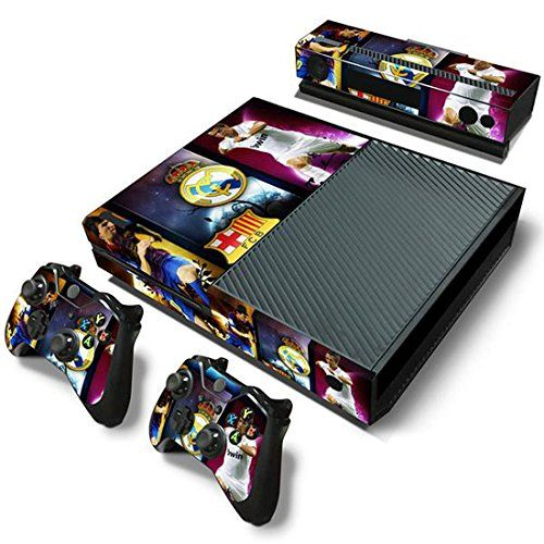 Mod Freakz Console And Controller Vinyl Skin Set Soccer Footbal