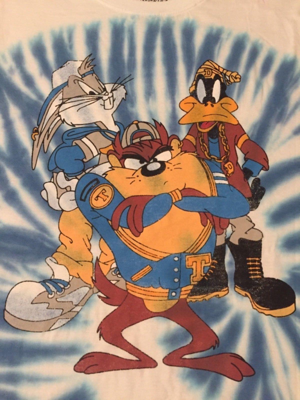 TAZ DEVIL Bugs Bunny DAFFY Duck LOONEY Tunes SPACE Jam MENS New Tank Top T-Shirt