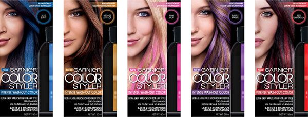 Sponsored: Temporary Hair Color Fun with Garnier Color Styler ...