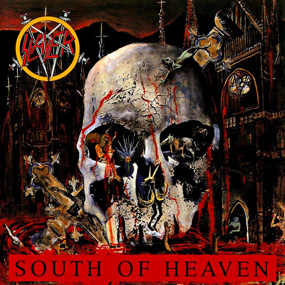 2018 Album A Day Bonus Album Slayer South Of Heaven Released July 5 1988 Rocksolidshow Rocksolidalbumaday South Of Heaven Thrash Metal Slayer Band