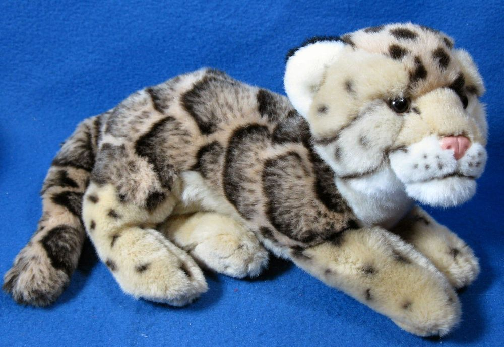 Ganz Webkinz Signature Endangered Clouded Leopard Plush Stuffed