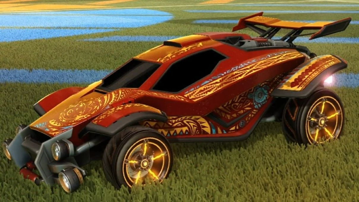 Gyazo PAINTED RARE DECALS in Rocket League!!! NEW CC5
