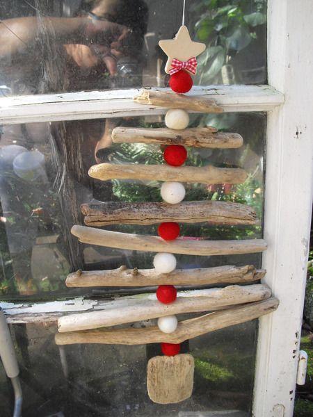 Christbaum Dekoobjekt Noel von einfach-B auf DaWanda.com #weihnachtsbastelnnaturmaterialien