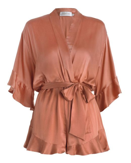 2e2283a69b2 Women s Orange Empire Sueded Playsuit