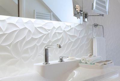 Une salle de bains design de 6m2 salle de bains moderne - Faience salle de bain zen ...