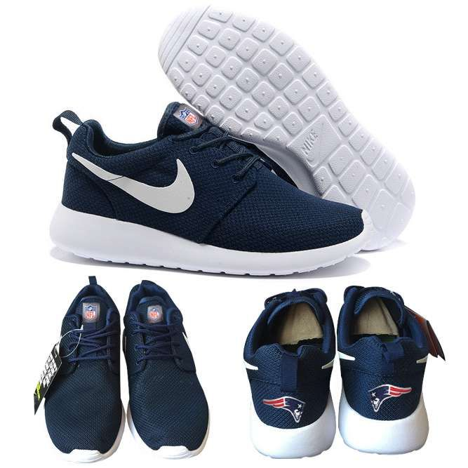 e2ff1b343a9d8d Nike New England Patriots London Olympics Navy Blue Shoes