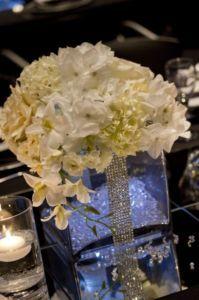 Pin By Barbara Ladin On Decor Square Vase Centerpieces Wedding Vases Vase Centerpieces