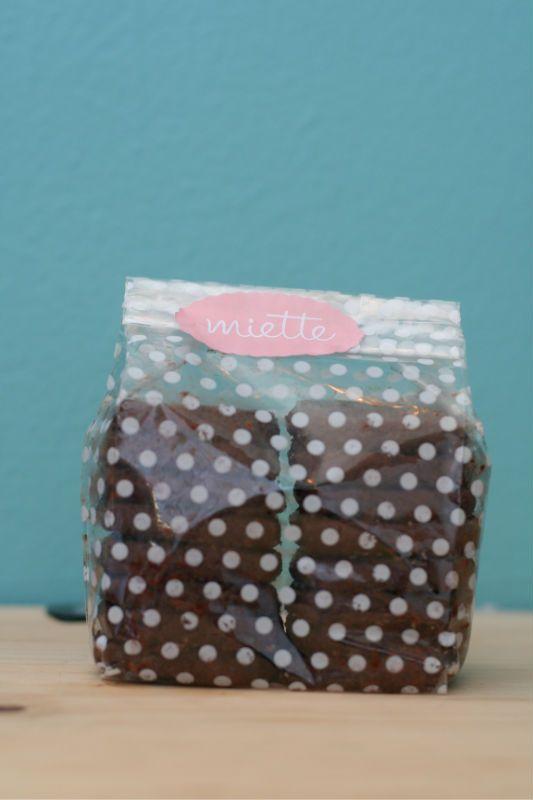 chocolate sables @ miette