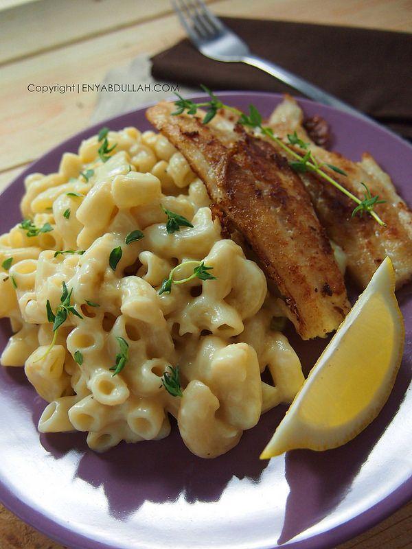 Mac And Cheese Resepi Macaroni Cheese Pasta Cheese Macaroni Cheese Grill Fish Grilled Fish Mac And Cheese Asian Recipes