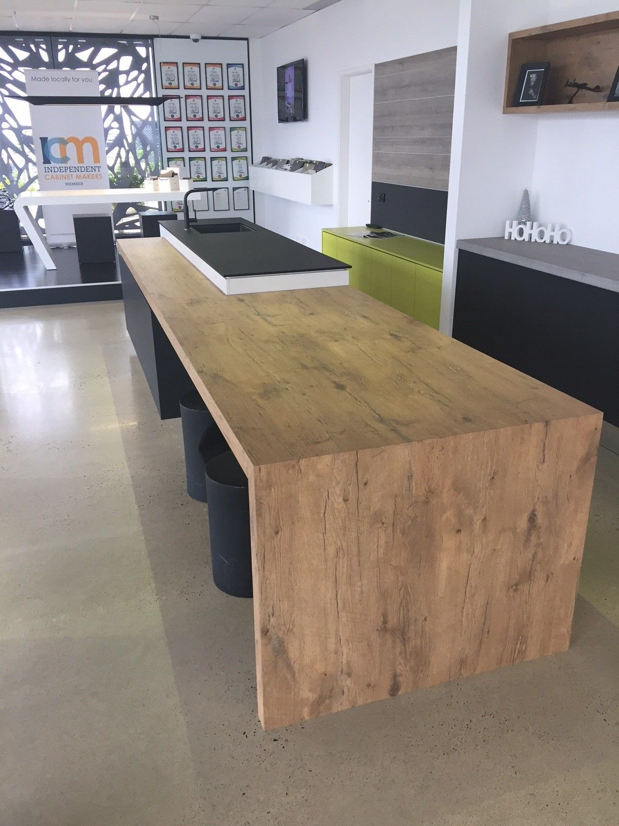 Duropal Pale Lancelot Oak Laminate Used For This Display