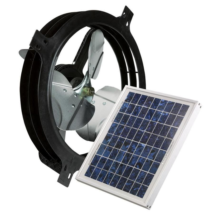 Air Vent 17 875 In Dia Solar Gable Vent Fan With Images Solar Gable Fan Gable Fans Best Solar Panels