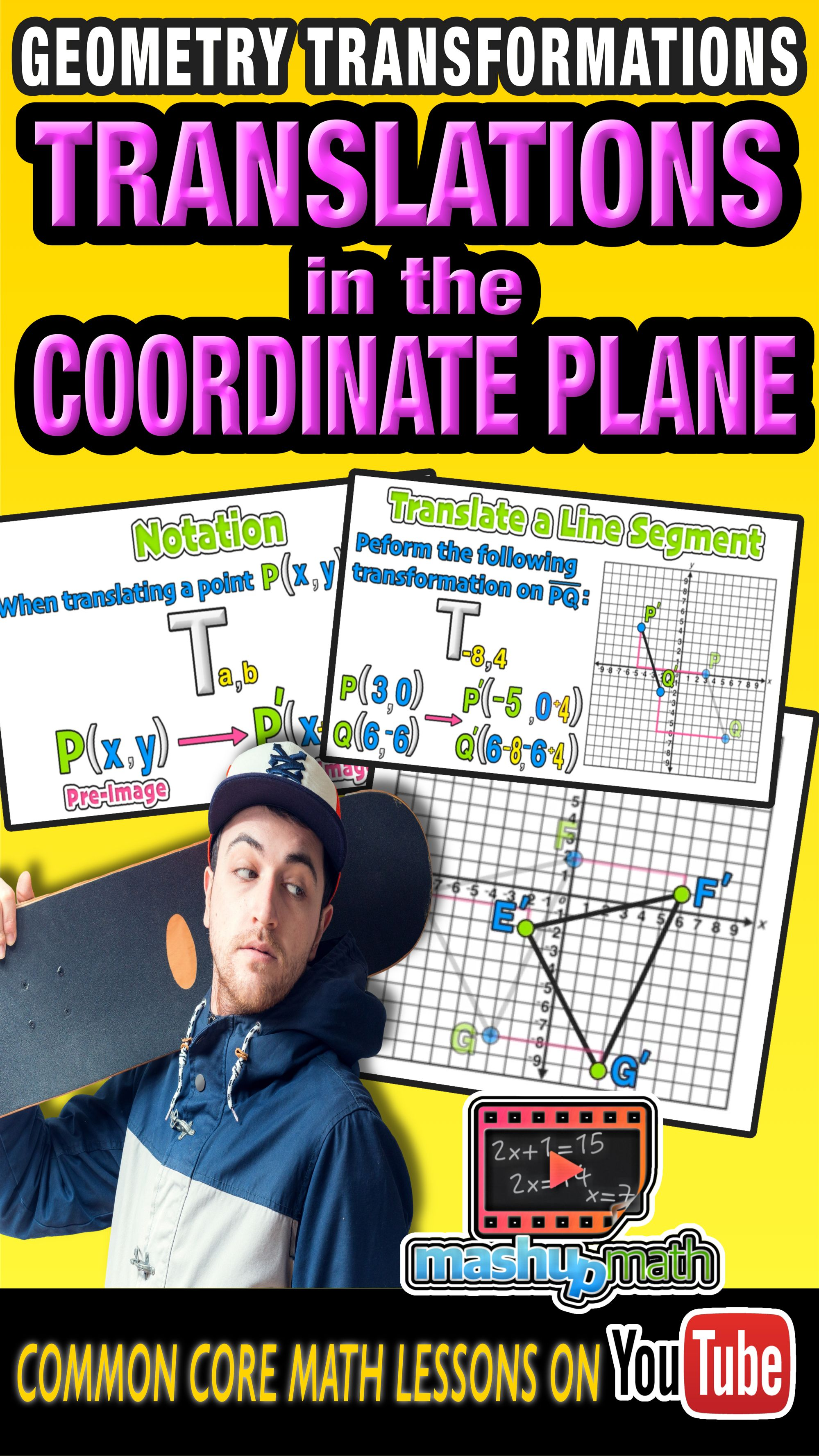 Check Out Our Common Core Geometry Lesson On Translating