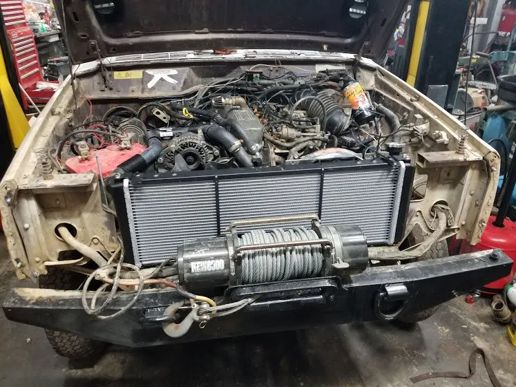 Renix Cooling Upgrade The Jeep Guru Jeep Old Radiators Radiator Cap