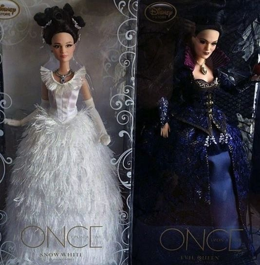 D23 expo once upon a time dolls are expected to be available in limited edition.