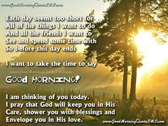 Cute Good Morning Poem Best Morning Poems For Friends Images