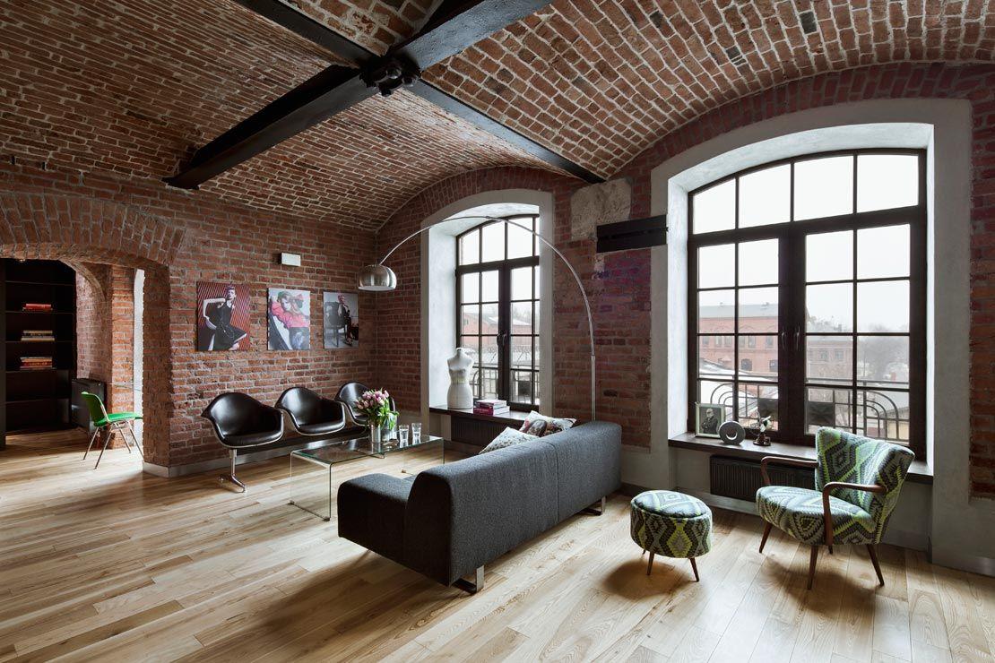 Gestalten Sie Ihr Zuhause im Boyfriend Style | Loft-wohnzimmer ...