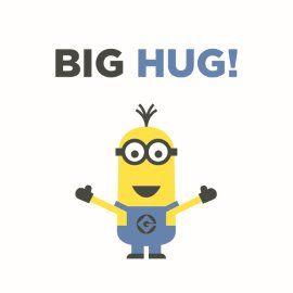 Wonderful Big Hug For You! #Hallmark #HallmarkNL #versvandepers #vvdp #minion