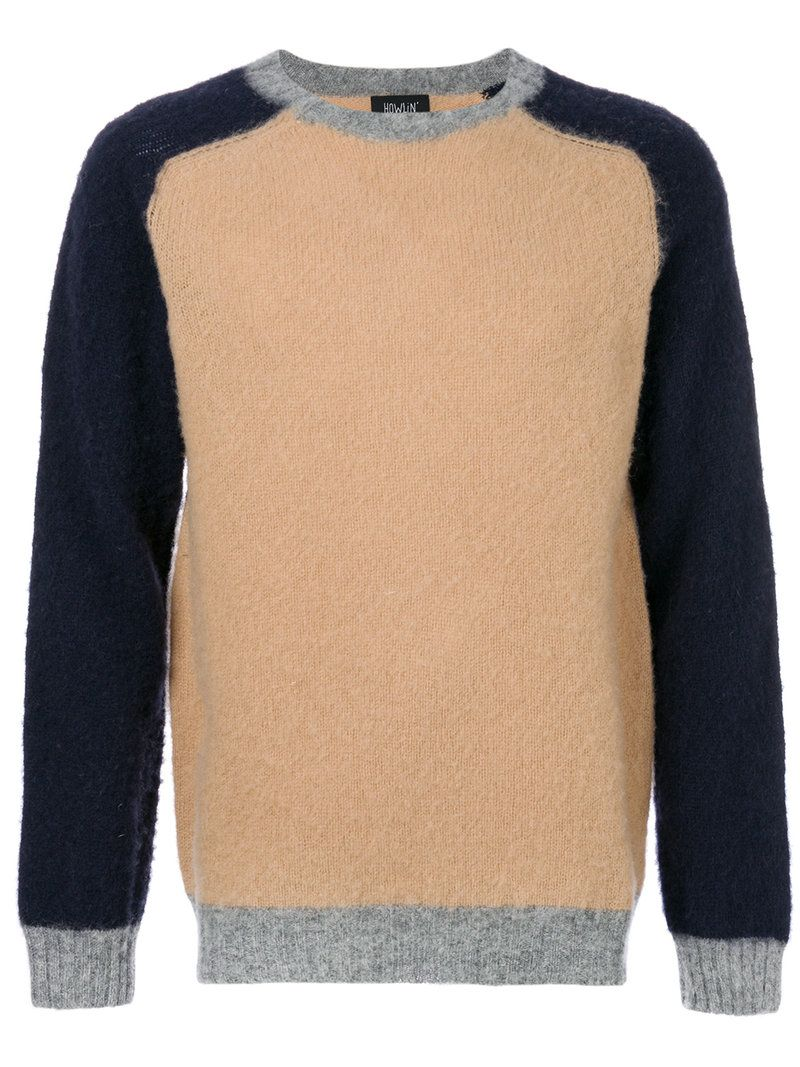 c26eb546967 HOWLIN' . #howlin #cloth # | Howlin' Men | Color block sweater ...