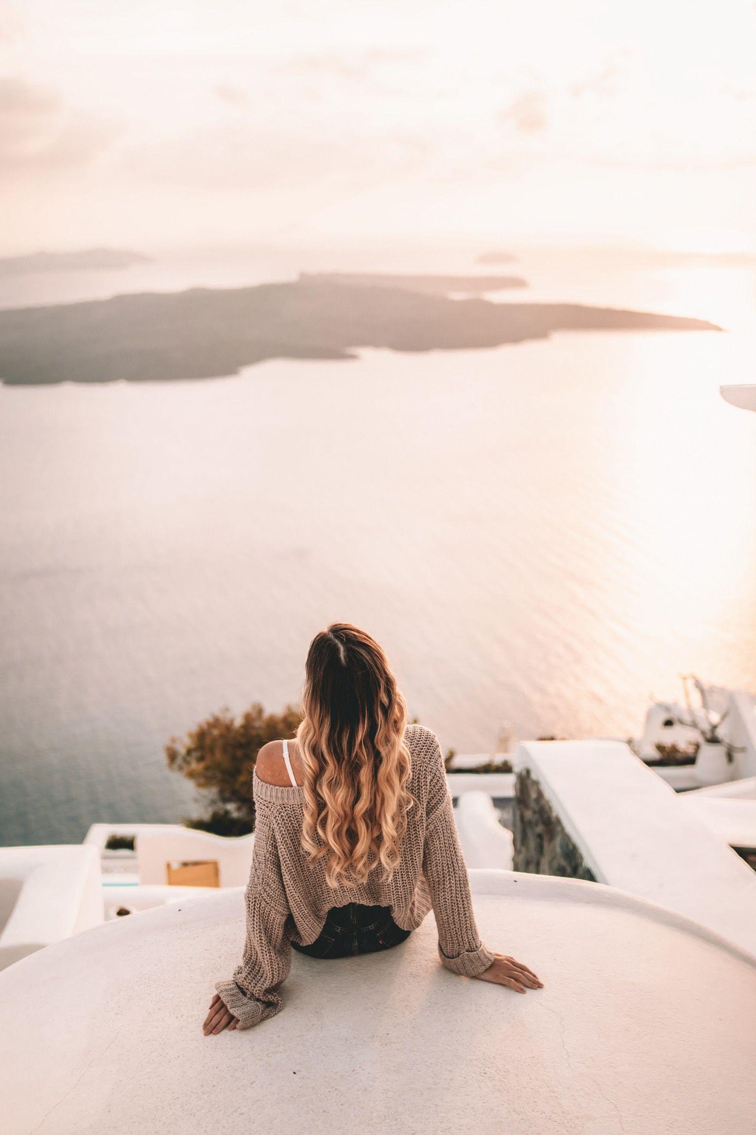 , Santorini View – Autumn In Greece | Mathildahogbergs, Travel Couple, Travel Couple