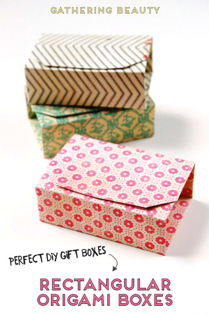 LEARN HOW TO MAKE RECTANGULAR DIY ORIGAMI BOX WITH THIS EASY TUTORIAL