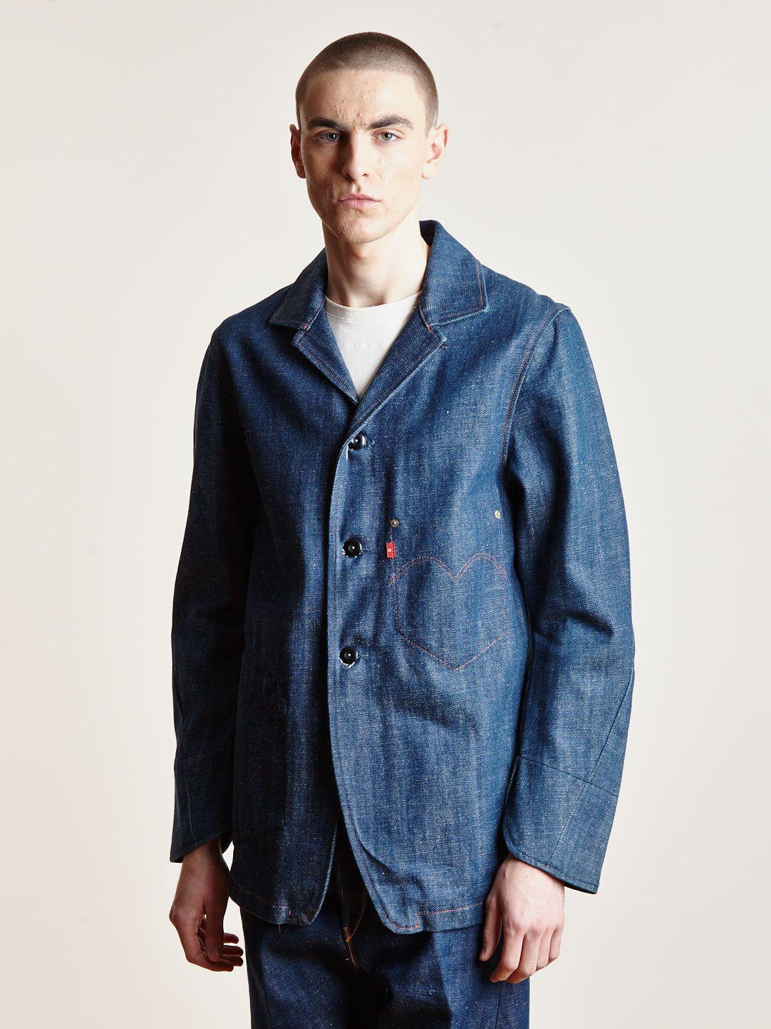 Levi S Red Archive Rigid Denim Jacket Denim Style Denim Double