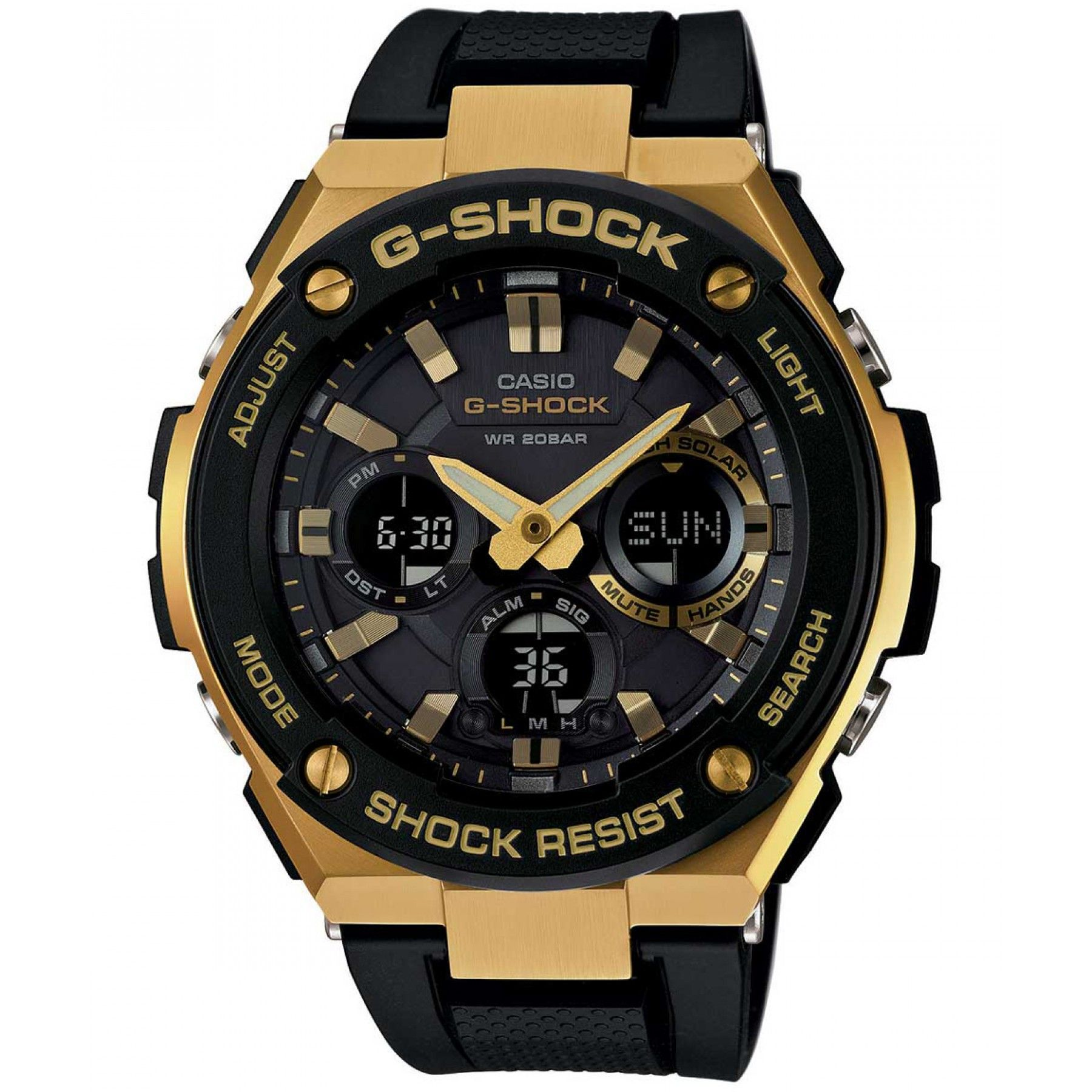 Reloj Casio G Shock con caja y extensible de acero