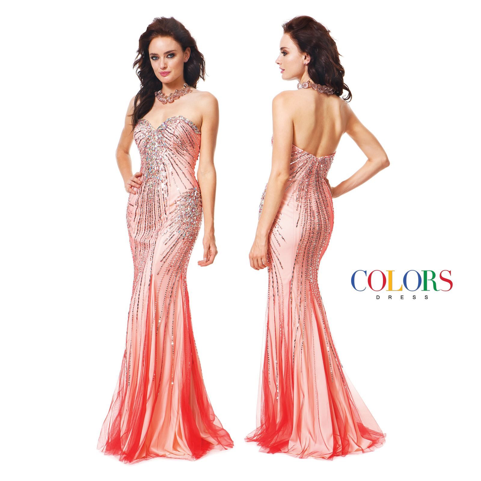 Dazzling! COLORS DRESS Style 1166 #prom #promshopping #redcarpet #fashion #style