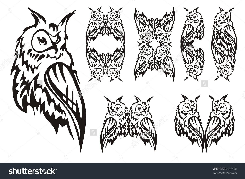 Tribal Owl Tattoo By Azuredemongod On Deviantart Owl Tattoo Drawings Owl Tattoo Tribal Owl Tattoos