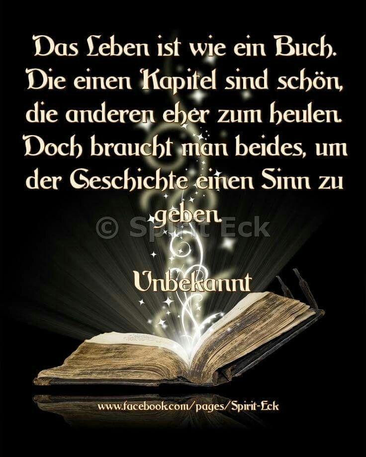 Das Leben Ist Wie Ein Buch Spruche Zitate Neue Zitate Weisheiten