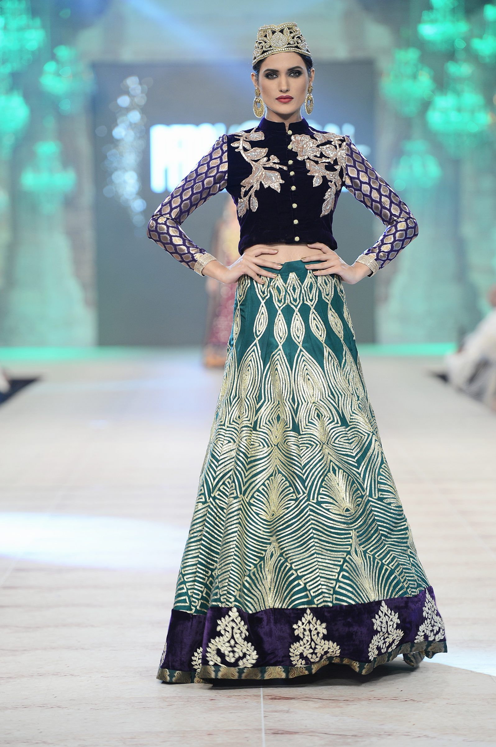 PFDC L\'Oréal Paris Bridal Week 2014: Day 2 Journal | Bridal lehanga ...