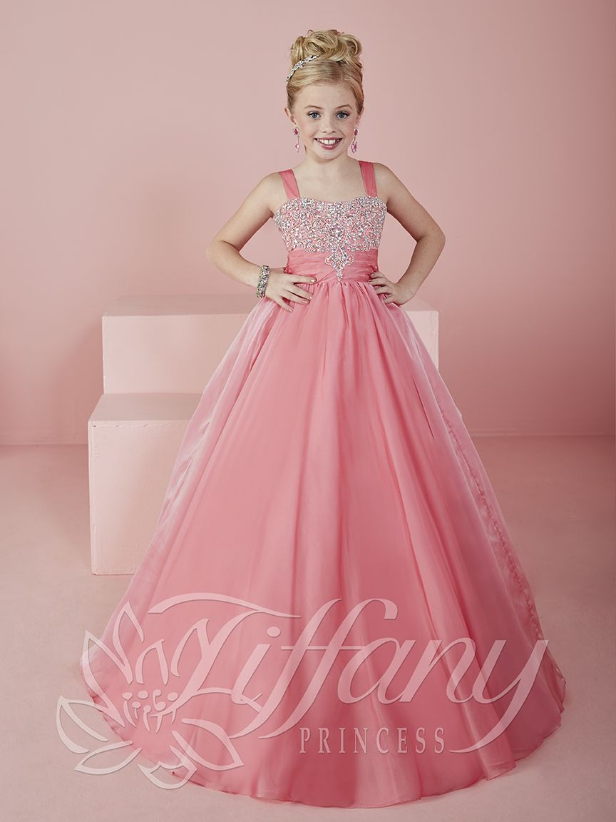 Flower Girl Vestido #13477 Lovely flower girls from tiffany ...