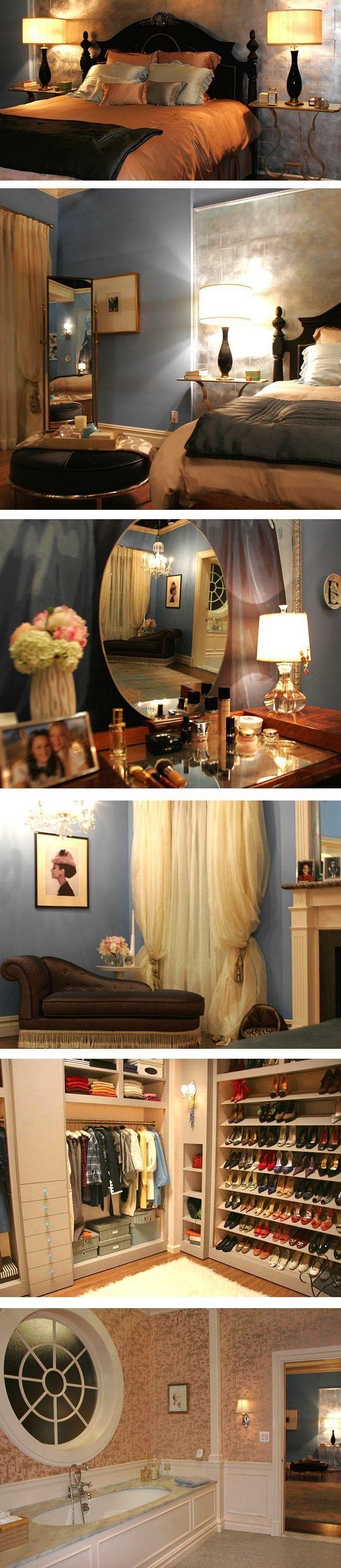 BEDROOM DECOR Blair Waldorf Blair waldorf bedroom
