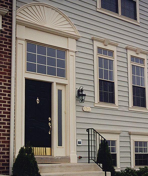 exterior vinyl pediments. colour exterior vinyl pediments