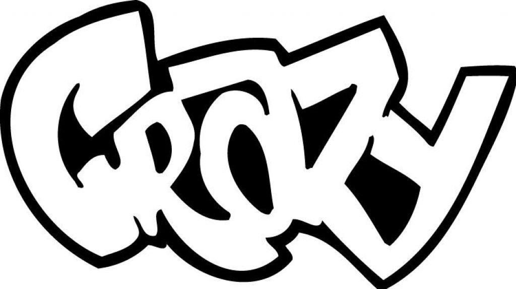 Printable Crazy Graffiti Coloring Pages Kidskat Com Coloring In 2019 Malvorlagen Graffiti Und Graffiti Worte